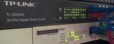 switche w firmie tp-link tl-sg2424 edge-core es4024