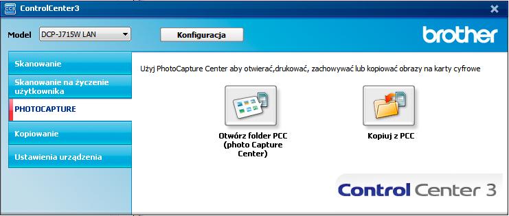 Instalacja drukarki Brother DCP-J715W w Windows 7 64 bit